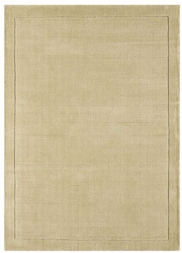 York Beige 100% Wool Rug